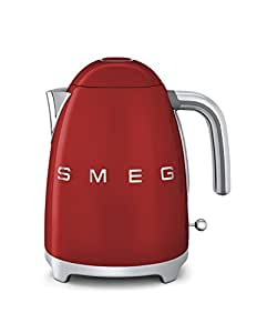 Smeg KLF01 1.7L 2400W Red electric kettle - electric kettles (2400 W, 220-240 V, 50/60 Hz, 223 mm, 170 mm, 246 mm)
