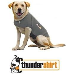 Thundershirt grau Gr. XS 33 - 45 cm