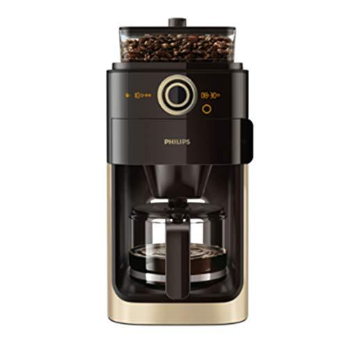 Philips Grind und Brew HD7768/90 FilterKaffeemaschine (Mahlwerk, Timerfunktion) champagner/schwarz -