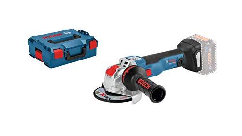 Bosch Professional Meuleuse angulaire X-Lock Sans-Fil GWX 18V-10 C (18 V, Connectable, Ø de meule : 125 mm, L-Boxx, Sans Batterie)