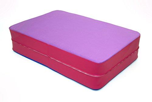 Profi HÜPFMATRATZE - Für ein schwungvolles, gesundes Leben! - Lavendel/Pink