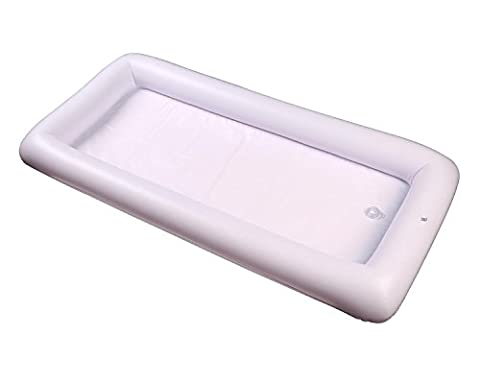 niceEshop(TM) Inflatable Serving Bar Buffet Salad Food Drink Tray Buffet Cooler with Drain Plug for Party, BBQ, Picnic, Pool