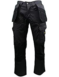 "DEWALT DWC17 Mens Low Rise Multi-Pocket Work Trousers 31""/33"" Leg"