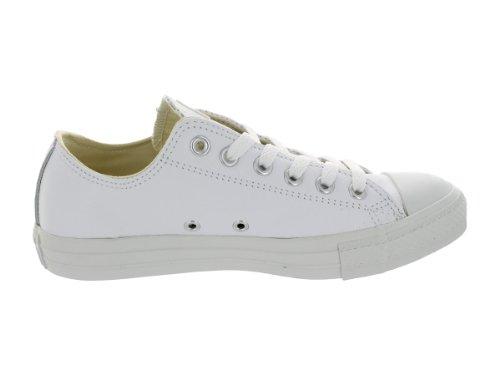 Converse - Ctas Mono Ox Cuir, sneakers da unisex adulto (White Open)