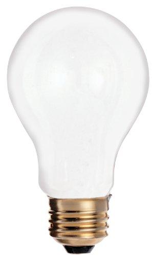 Frosted Satco-glühlampe (Satco S605025Watt 185Lumen A19Weich Weiß 2700K Frosted Glühbirne, 2er Pack)