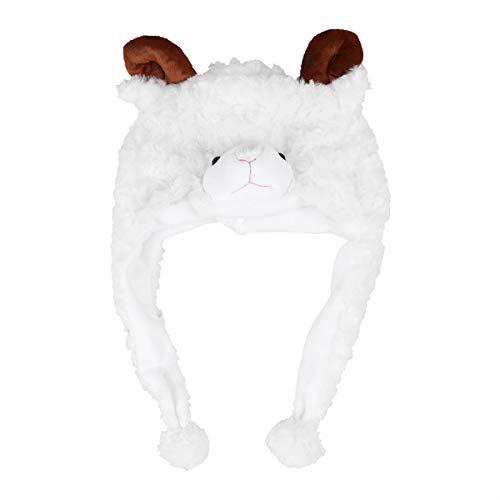 BESTOYARD Tier Hut Bühne Leistung Requisiten für Kinder Plüsch Winter Cartoon Earflap Cap Haube Party Cosplay Kostüm Zubehör ()