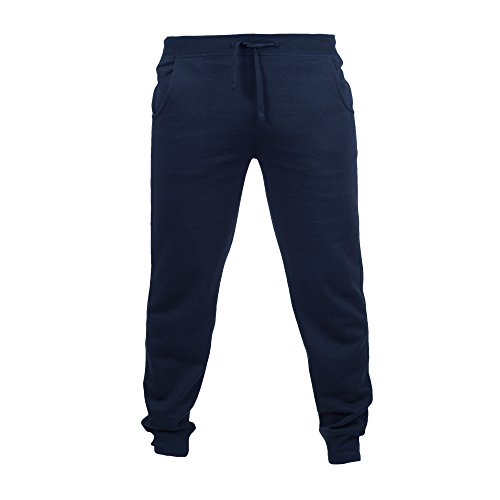 Skinni Fit - Pantalon de jogging - Homme (2XL) (Bleu marine)