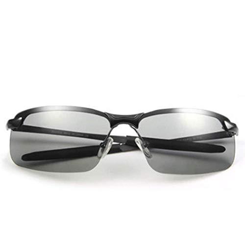 Yuany Abblendgläser Tag und Nacht Polarisator Sonnenbrillen Fahren Männliche Nachtsichtaugen Intelligenter Farbwechsel UV-Schutz Sicheres Fahren Polarisator