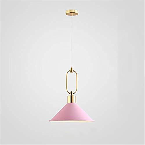 Deckenbeleuchtung Deckenleuchte Pendelleuchten Nordic Iron Art Wohnzimmer Bar Restaurant Kronleuchter, Pfirsich Rot Rosa -
