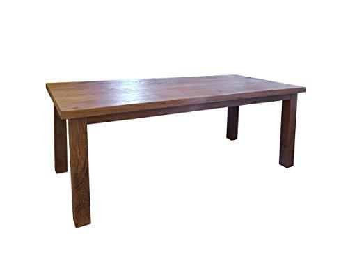 Tisch Esstisch Esszimmertisch Teakholz massiv 10 Personen 80x220x100 cm (3896)