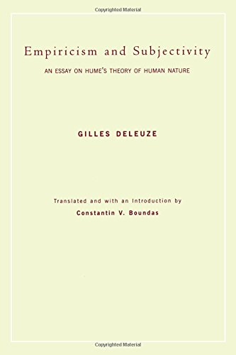Empiricism and Subjectivity: An Essay on Hume's Theory of Human Nature (European Perspectives: A Series in Social Thought and Cultural Criticism)