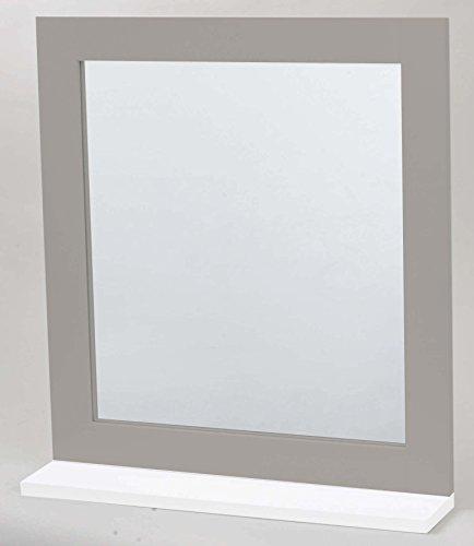 2 en 1 Espejo y Estante de baño - Mueble de diseño