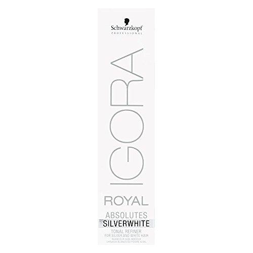 Schwarzkopf Igora Absolutes Silverwhite Grau-Lila, 1er Pack (1 x 60 ml)
