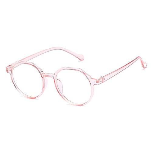 WZYMNTYJ Klare Linse Cat Eye Brille Full Frame Damenmode Schauspiel Transparente Eyewear Optische Klare Brillen