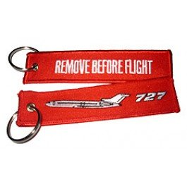 -remove-before-flight-boeing-727-high-quality-luggage-keychain-tag-incl-chrome-keyring-by-runway-con
