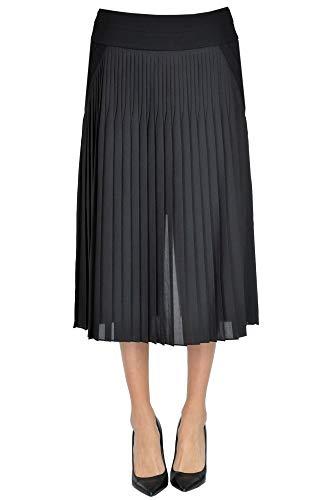 Givenchy Pleated midi Skirt Woman Black 40 FR
