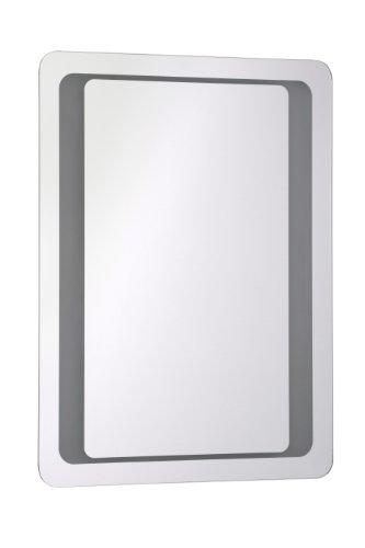 Premier Housewares Olena – Espejo de pared iluminado
