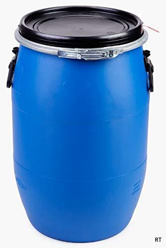 PE- Spannring Deckelfass 60 Liter mit UN-X Gefahrgutzulassung