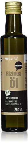 Wohltuer Bio Rizinusöl 250ml | Beste Naturkosmetik für Haut und Haar | Intensive Pflege | Intensive Haut- & Haarpflege | Haaröl