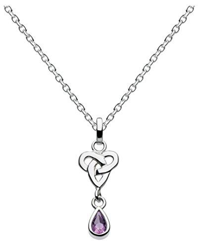 heritage-damen-halsband-925-sterling-silber-amethyst-violett-92052am