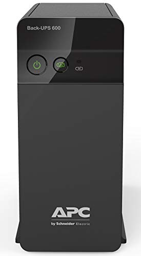 APC BX600C-IN 600VA/360W UPS System for Personal Computers, Home Entertainment