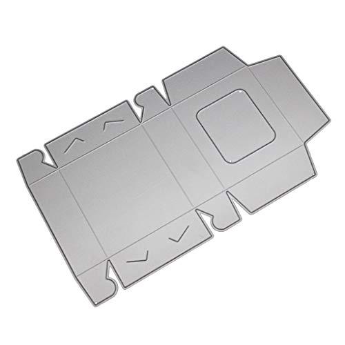(Hothap Hohe Qualität Pralinenschachtel Metall Stanzformen Schablone Für DIY Scrapbooking Papier Karte Prägung Handwerk Dekoration)