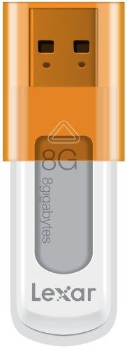 Lexar JumpDrive S50 Memoria Flash, USB 2.0, 8 GB, Arancione,