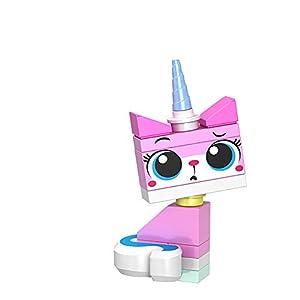 TYY-guang Entzückende Sitzen Unikitty Minifigur Bausteine ??Montage Cartoon-Figur Spielzeug für Kinder EIN großes Geburtstagsgeschenk für Kinder
