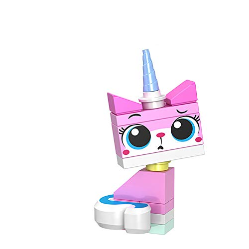 TYY-guang Adorable Sitting Unikitty Minifigure Building...