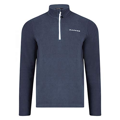 Dare 2b Mens Freeze Dry II Lightweight Quarter Zip Polyester Fleece -