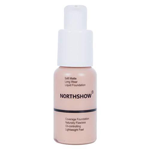 TIREOW 30ml Matte Lasting Ölsteuer Concealer Foundation Solution Kosmetika für Frauen Girl Lady (B) -