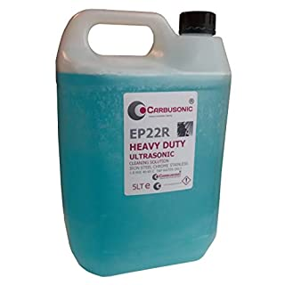 Apl Chemicals Ultrasonic cleaning solution fluid heavy duty de greaser suitable for all ultrasonic cleaning tanks 5 LT