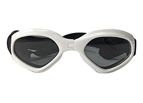 7341a4f2febf5 Chat Chien Des Lunettes Chien Œil protection Imperméable Ajustable Des  Lunettes de Soleil UV Protection Des