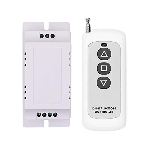 JesseBro76 433MHz Wireless Remote Control Switch 9V to 12V DC Motor Speed Controller White - Dc Motor Control Circuit