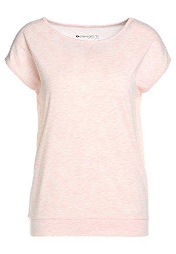Even&Odd Damen T-Shirt mit Kurzarm in Rosa, M