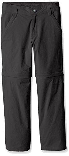 The North Face Jungen Hose B Convertible Hike Pants, Asphalt Grey, M, 0732075063498 (Hose Jungen Microfleece)