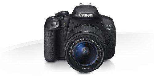 Canon EOS 700d + EF-S 18-135mm Jeu de caméra SLR 18MP CMOS 5184x 3456pixels Noir-Appareil photo numérique (18MP, 5184x 3456pixels, CMOS, Full HD, écran tactile, Noir)