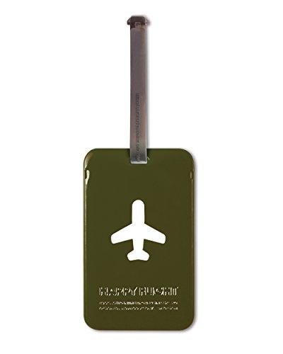 ALIFE Gepäckanhänger HF Square Luggage Tag - g-Olive