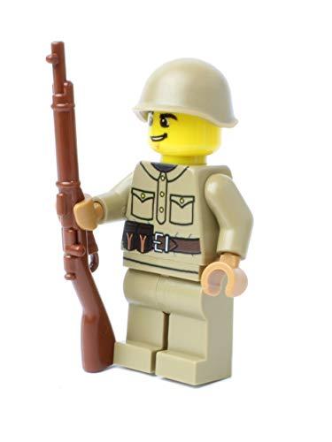 WW2 WWII Custom Soldado Ruso BrickArms Mosin Nagant