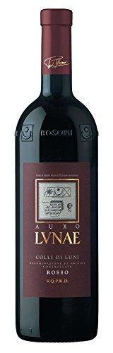 Auxo Colli di Luni DOC 2014 – Lunae | trockener Rotwein | italienischer Rotwein aus Ligurien | 1 x 0,75 Liter