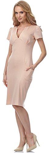 Merry Style Damen Kleid MSSE0010 Beige