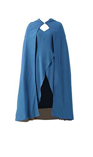 Disfraz de cosplay para mujer, de Mtxc, de Daenerys Targaryen, de la serie Juego de Tronos