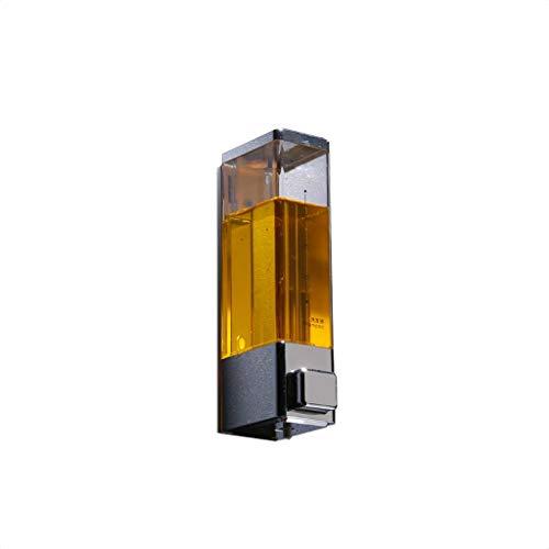 Precision Clean Refills (RLJJCS Seifenspender Wandmontage Transparent Druck Weiß Händedesinfektionsmittel Körperwaschflasche 250 ML Händedesinfektionsbox (Color : Chrome))