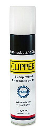 Clipper® Isobutangas Pure, Feuerzeug Gas 300 ml