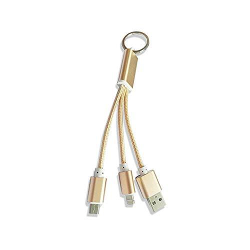 Ladekabel 2 In 1 Mehrere USB-Ladekabel Adapter Mit Micro/Blitz-8-Pin USB-Anschlüsse Für iPhone 5 iPhone 6 Samsung Xiaomi Huawei HTC Lenovo Android Und Mehr (Motorola Iphone 5 Auto-ladegerät)