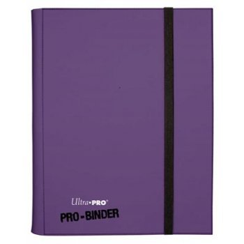 ULTRA-PRO - PRO BINDER Purple - holds 360 Trading Cards - MTG YUGIOH WOW by Ultra Pro (Mtg Card-binder)