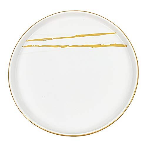 Keramikofen Geschirr Reisschüssel Teller passenden Teller kommerziellen Hotel Restaurant Restaurant Teller Teller 11x3cm ()