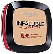 L'Oreal Paris Cosmetics Infallible Pro-Matte Powder - Porcelain