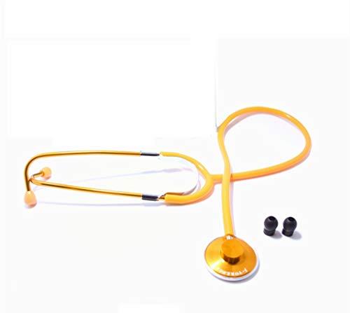 IF.HLMF Estetoscopio médico de una Sola Cabeza Plana para niños Adultos Embarazadas corazón Mujer...