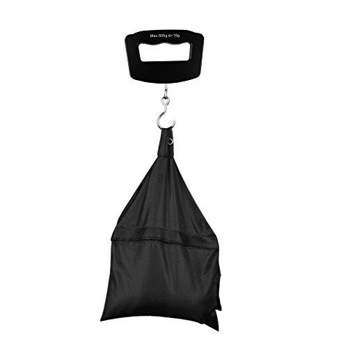 Blusea Gepäckwaagen, Mewmewcat 50kg LCD Digital Fishing Hängen Elektronische Waage Taschenhaken Gewicht Gepäck Mini Hand Kunststoff